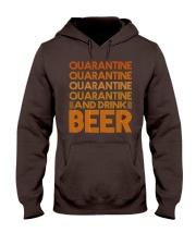 2020 BEER BREWERS QUARANTINE AND DRINK BEER Hooded Sweatshirt thumbnail