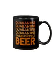 2020 BEER BREWERS QUARANTINE AND DRINK BEER Mug thumbnail