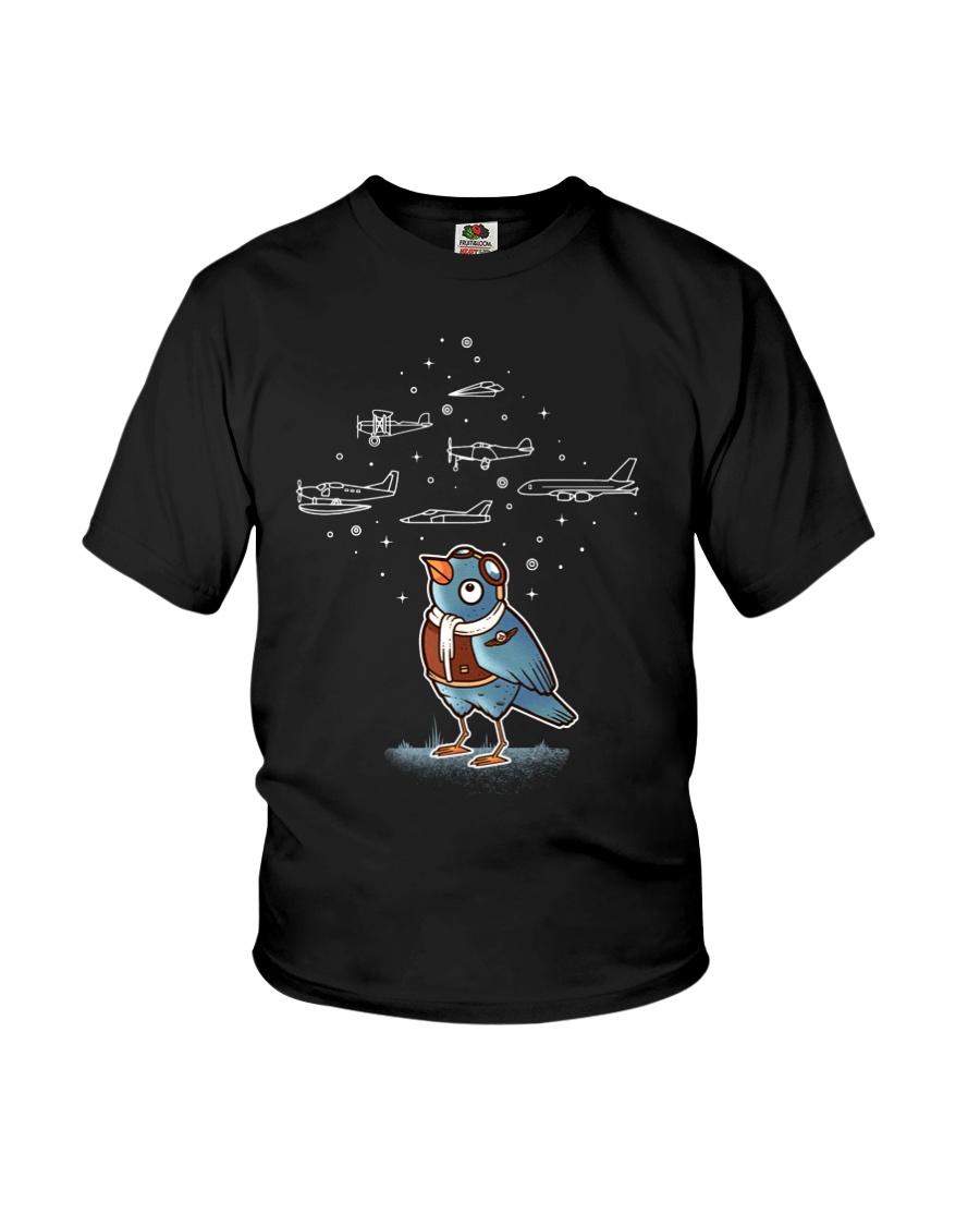 AVIATION RELATED GIFT - BIRD PILOT Youth T-Shirt