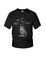 AVIATION RELATED GIFT - BIRD PILOT Youth T-Shirt front