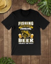 CRAFT BEER LOVER - FISHING AND BEER Classic T-Shirt lifestyle-mens-crewneck-front-18