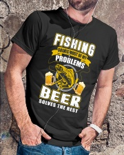CRAFT BEER LOVER - FISHING AND BEER Classic T-Shirt lifestyle-mens-crewneck-front-4