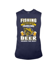 CRAFT BEER LOVER - FISHING AND BEER Sleeveless Tee thumbnail