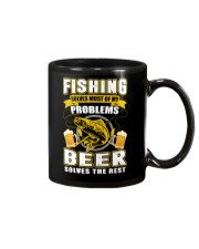 CRAFT BEER LOVER - FISHING AND BEER Mug tile
