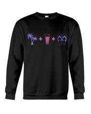BEER LOVER GIFT - FLIP FLOPS BEER Crewneck Sweatshirt thumbnail