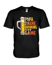 B - PAPA V-Neck T-Shirt thumbnail
