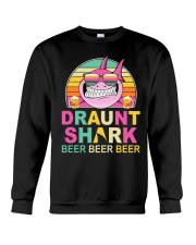 CRAFT BEER LOVER - DRAUNT SHARK  Crewneck Sweatshirt thumbnail
