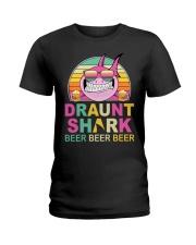 CRAFT BEER LOVER - DRAUNT SHARK  Ladies T-Shirt front