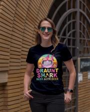 CRAFT BEER LOVER - DRAUNT SHARK  Ladies T-Shirt lifestyle-women-crewneck-front-2