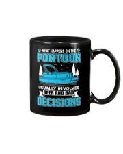 PONTOON BOAT GIFT - BEER AND BAD DECISIONS Mug thumbnail