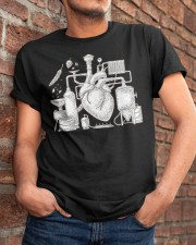 CRAFT BEER AND BREWING BEER HEART Classic T-Shirt apparel-classic-tshirt-lifestyle-26