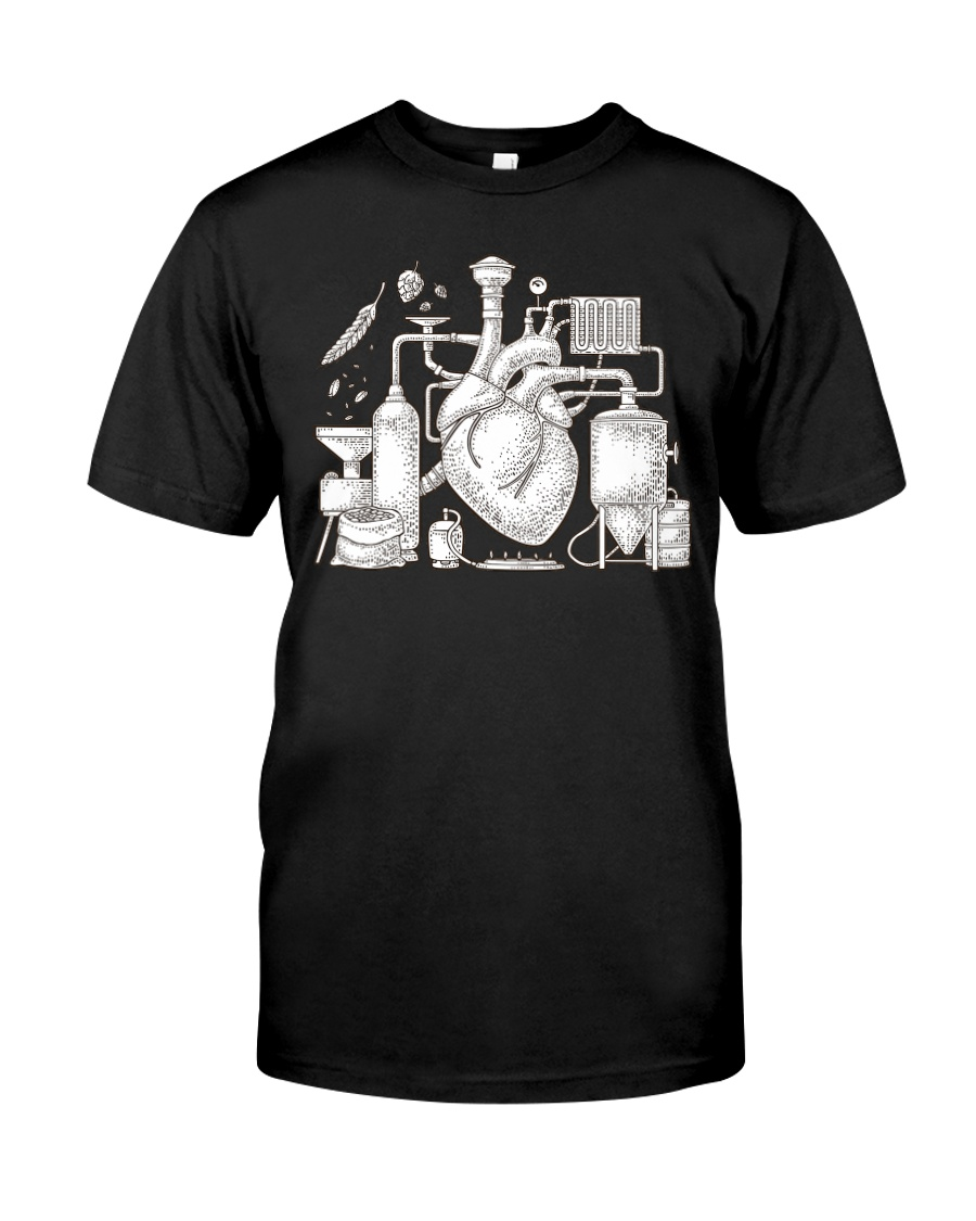 CRAFT BEER AND BREWING BEER HEART Classic T-Shirt