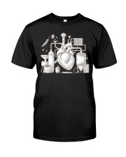 CRAFT BEER AND BREWING BEER HEART Classic T-Shirt front