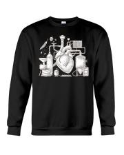 CRAFT BEER AND BREWING BEER HEART Crewneck Sweatshirt thumbnail