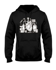 CRAFT BEER AND BREWING BEER HEART Hooded Sweatshirt thumbnail