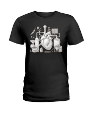 CRAFT BEER AND BREWING BEER HEART Ladies T-Shirt thumbnail