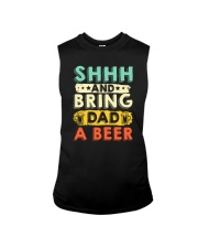 CRAFT BEER AND BREW - BRING DAD A HOME BREW BEER Sleeveless Tee thumbnail