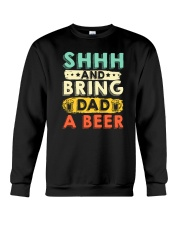 CRAFT BEER AND BREW - BRING DAD A HOME BREW BEER Crewneck Sweatshirt thumbnail