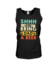CRAFT BEER AND BREW - BRING DAD A HOME BREW BEER Unisex Tank thumbnail