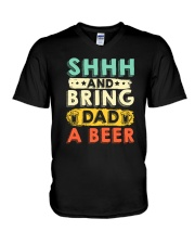 CRAFT BEER AND BREW - BRING DAD A HOME BREW BEER V-Neck T-Shirt thumbnail