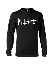 AVIATION RELATED GIFTS - PILOT SYMBOLS Long Sleeve Tee thumbnail