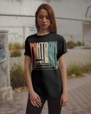 PONTOON BOAT GIFT - PONTOON VINTAGE Classic T-Shirt apparel-classic-tshirt-lifestyle-18