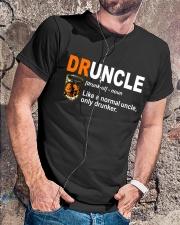 B - DRUNCLE LIQUORS Classic T-Shirt lifestyle-mens-crewneck-front-4