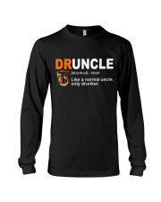 B - DRUNCLE LIQUORS Long Sleeve Tee thumbnail
