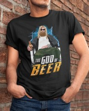 TRULY DRINK - THE GOD OF BEER Classic T-Shirt apparel-classic-tshirt-lifestyle-26