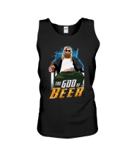 TRULY DRINK - THE GOD OF BEER Unisex Tank thumbnail