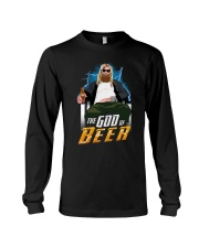 TRULY DRINK - THE GOD OF BEER Long Sleeve Tee thumbnail