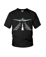 PILOT GIFTS - LANDING PHONETIC ALPHABET Youth T-Shirt thumbnail