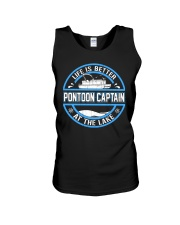 PONTOON BOAT GIFT - LIFE IS BETTER AT THE LAKE Unisex Tank thumbnail