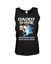 TRULY DRINK - DADDY SHARK Unisex Tank thumbnail
