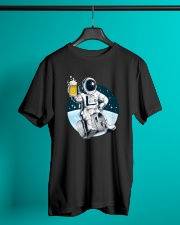 CRAFT BEER LOVER ASTRONAUT Classic T-Shirt lifestyle-mens-crewneck-front-3