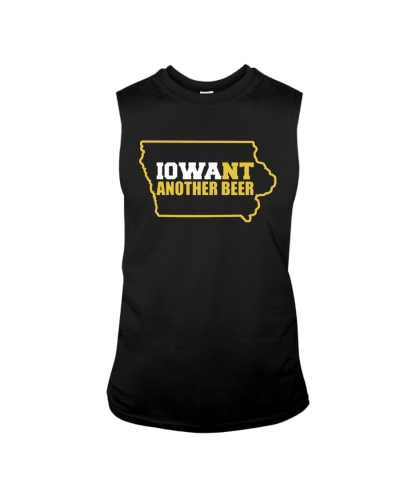 BEER LOVER GIFT - IOWA WANT ANOTHER BEER