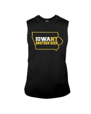 BEER LOVER GIFT - IOWA WANT ANOTHER BEER Sleeveless Tee thumbnail