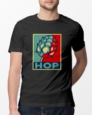 RETRO BEER - HOP VINTAGE Classic T-Shirt lifestyle-mens-crewneck-front-13