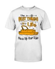 PONTOON BOAT GIFT - BEST PONTOON THINGS Classic T-Shirt thumbnail