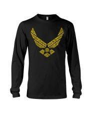 AVIATION RELATED GIFTS  - AIR FORCE Long Sleeve Tee thumbnail