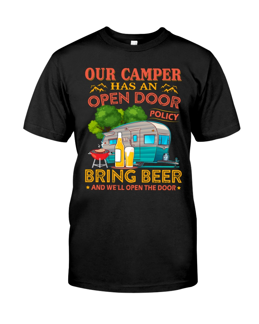 BONFIRE AND BEER - CAMPER Classic T-Shirt