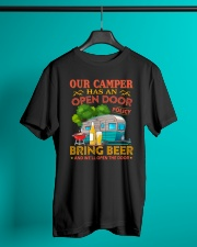 BONFIRE AND BEER - CAMPER Classic T-Shirt lifestyle-mens-crewneck-front-3