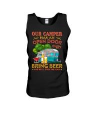 BONFIRE AND BEER - CAMPER Unisex Tank thumbnail