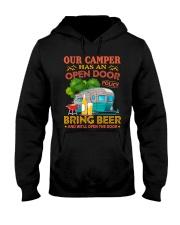 BONFIRE AND BEER - CAMPER Hooded Sweatshirt thumbnail