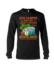 BONFIRE AND BEER - CAMPER Long Sleeve Tee thumbnail