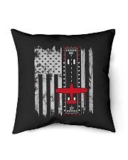 "PILOT GIFTS - CESSNA AIRPLANE FLAG Indoor Pillow - 16"" x 16"" thumbnail"