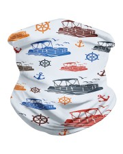 PONTOON BOAT GIFTS - QUARANTINED AND BEER Neck Gaiter thumbnail