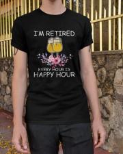 B - HAPPY HOUR Classic T-Shirt apparel-classic-tshirt-lifestyle-21