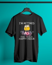 B - HAPPY HOUR Classic T-Shirt lifestyle-mens-crewneck-front-3