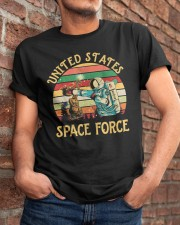 PILOT GIFT - VINTAGE SPACE FORCE Classic T-Shirt apparel-classic-tshirt-lifestyle-26